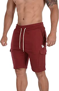 YoungLA Cargo Shorts Men Pockets Gym Workout Running Training 122