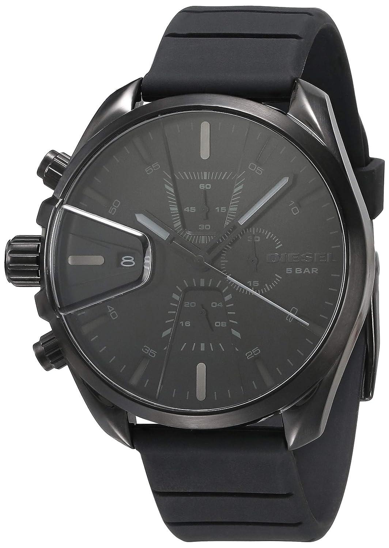 Diesel Ms9 Chrono Analog Black Dial Men's Watch-DZ4507