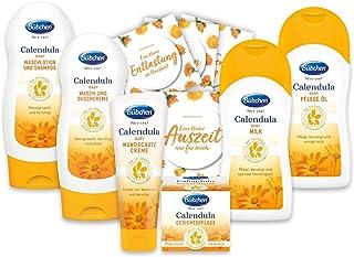 Bübchen Calendula Babypflege-Set 6-teiliges Pflegeset, 1er Pack 6 Produkte