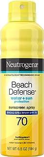 Neutrogena Beach Defense Spray SPF 30, 6.5 oz (Pack of 4)