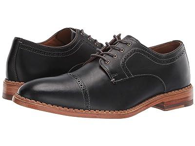 J&M EST. 1850 Chambliss Cap Toe (Black) Men
