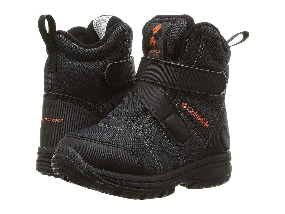 Columbia Kids Fairbankstm (Toddler/Little Kid) (Graphite/Heatwave) Boys Shoes