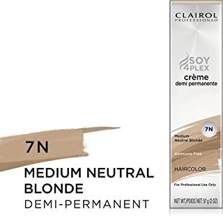 Clairol Crème Demi Permanente, Clairol Pro Crème Demi 7N Neutral Blonde