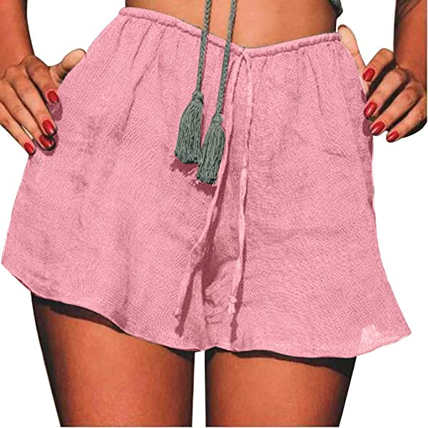 TOTOD New Beach Shorts Fashion Womens Breathable Lacing Trunks Leisure Running Mini Hot Pants