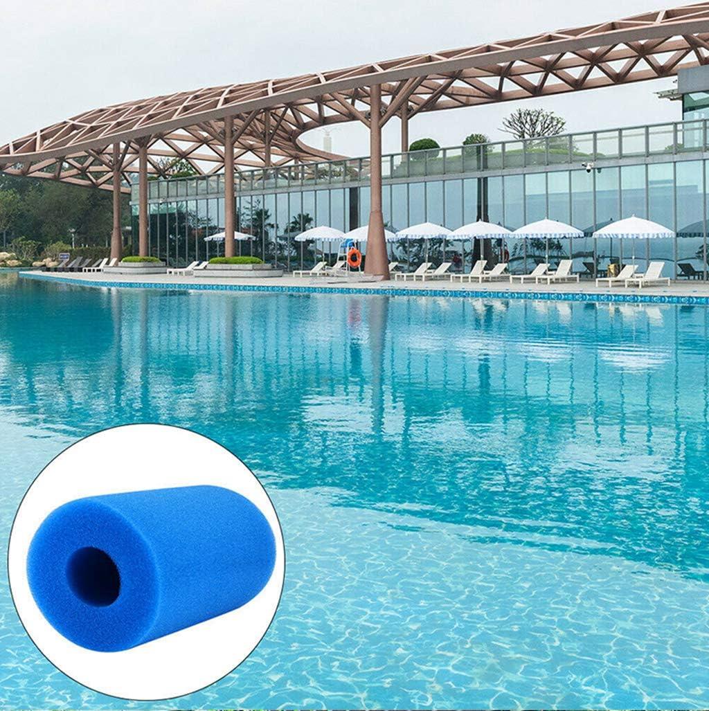 XIAOL Cartucho de filtro para Intex tipo A reutilizable//lavable filtro de espuma de piscina