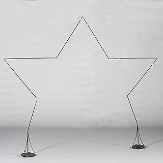star shaped balloon arch frame