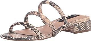 STEVEN by Steve Madden Women's Hades Sandal, Natural Multi, 7 M US