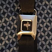 Tapestry Charcoal//Olive 1.5 Wide Buckle-Down Seatbelt Belt 24-38 Inches in Length
