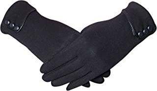Womens Winter Gloves Touch Screen Warm Fleece Lined Thick Phone Windproof Texting Gloves Gifts