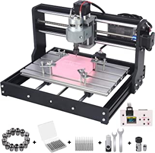 Upgrade Version CNC 3018 Pro GRBL Control DIY Mini CNC Machine, Wood Router Engraver with..