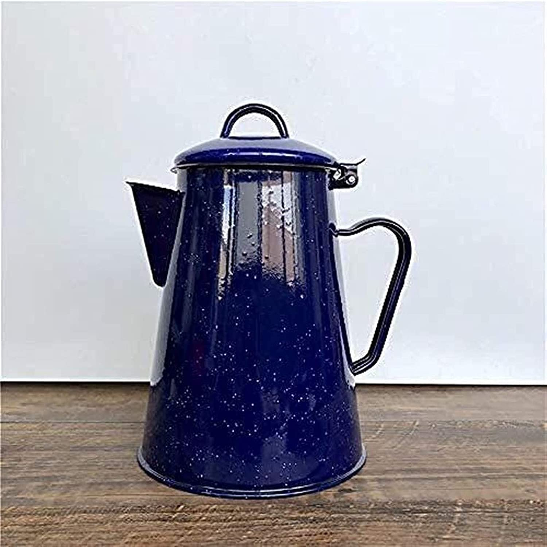Opening large release sale YZYN Enamel Teapot Tea Sets Max 59% OFF Camping Enameled Pot Kettles