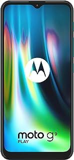 """Motorola Moto G9 Play - Pantalla Max Vision HD+ de 6.5"""", procesador Qualcomm Snapdragon 662, sistema de triple cámara de 4..."""