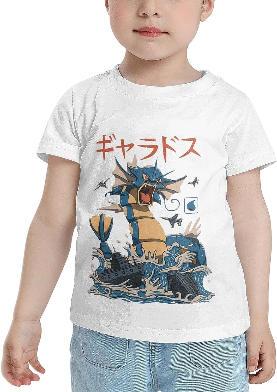 Poke Gyarados Flying Water Kaiju T Shirt Girls Child Shirts 3D Print Short Sleeve Tops T Shirts Tshirts for Boy Girl's Boy's