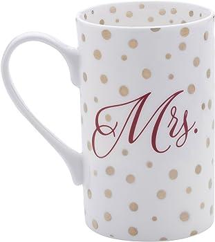 2-Pack Mikasa Mrs Gold Dots Mug