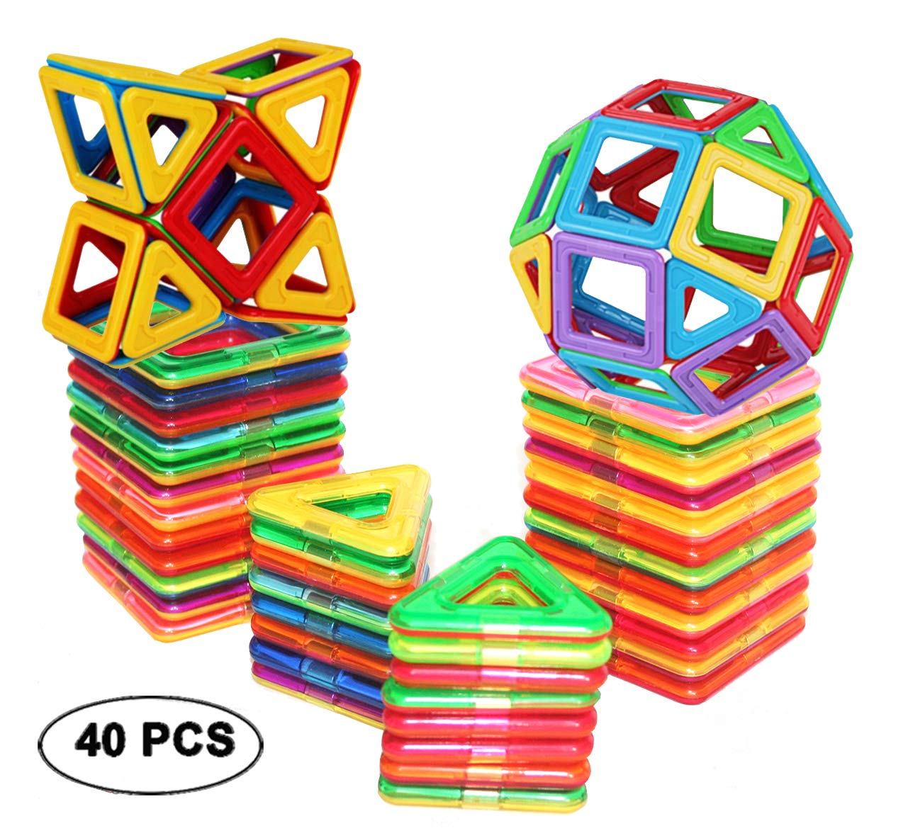 DreambuilderToy Magnetic Tiles Building Blocks