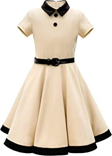 BlackButterfly Kids 'Lucy' Vintage Clarity 50's Girls Dress