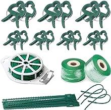 ODOOKON Afwerkingsband, plantenhouder, groen, set, 2 stuks, transparante plugband, voetpannen rekbare band, vochtbarrière,...