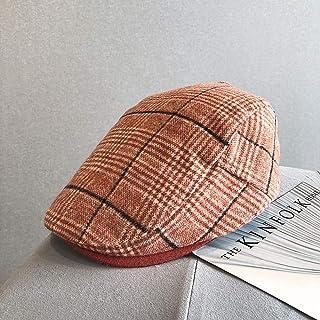 COCKCE M/ännliche Casual Denim Ivy Hats M/änner Casual Zeitungsjunge Caps Flat Schirmm/ütze Frauen Jean Berets