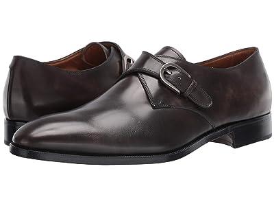 Gravati Plain Toe Single Monk (Steel Calf) Men