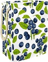 Blueberry - Grand panier à linge sale avec poignées - Pliable
