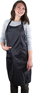 Hair Stylist Apron - Waterproof Apron - Protective PVC Coating - Cosmetology Supplies - Nail Tech Apron - Cosmetologist Apron - Dog Grooming Apron