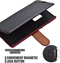 OnePlus 2 Case Wallet - Mulbess [Layered Dandy][Black] - [Slim][Wallet Case] - Premium Leather Flip Case with Credit Card Slot for OnePlus Two