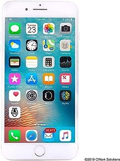 Apple iPhone 8 Plus, 64GB, Silver - Fully Unlocked (Renewed)
