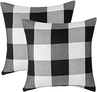 throw pillow covers plaid