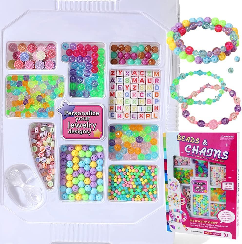 Bracelet Making Mail order Kit for Girls DIY - Beading Jewelry Fashion