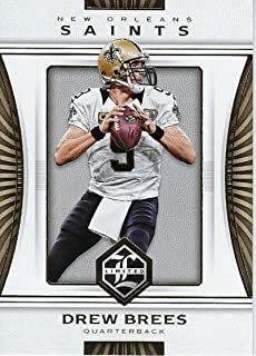 Football NFL 2017 Panini Limited #70 Drew Brees #70 NM+ Saints
