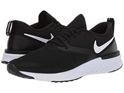 Nike Odyssey React Flyknit 2 (Black/White) Men