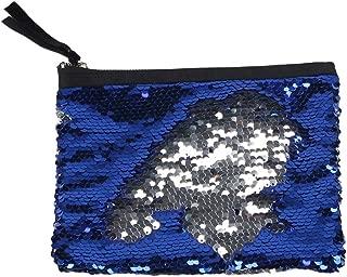 Mermaid Sequin Coin Purse for Girls, Women Teens Magic Reversible Glitter Change Pouch Wallet Mini Clutch Handbag for Kids