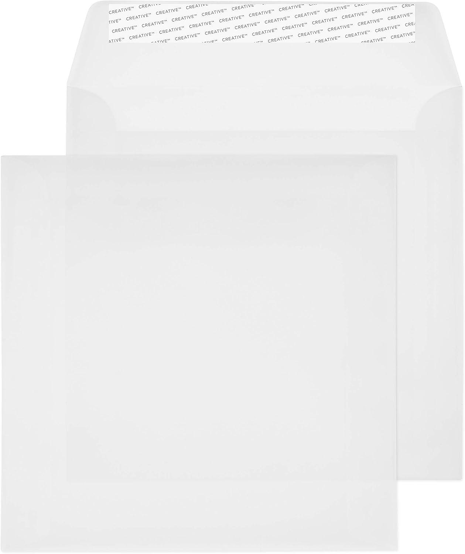 Creative Senses 160 x 160 mm Wallet schälen schälen schälen und Seal Umschlag – parent Translucent Weiß B00PZX0GW4   Up-to-date Styling  fa5757