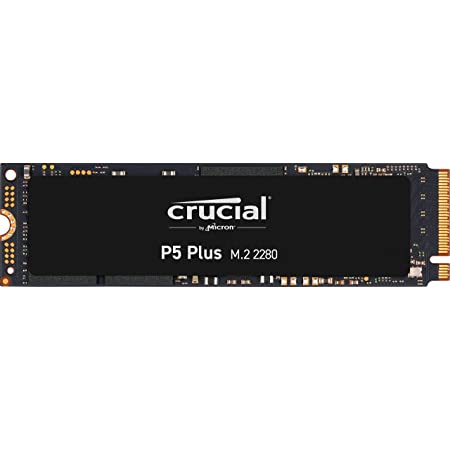 Crucial P5 Plus 1TB PCIe 4.0 3D NAND NVMe M.2 SSD, up to 6600MB/s - CT1000P5PSSD8