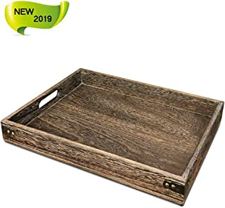 Best large wood tray Reviews