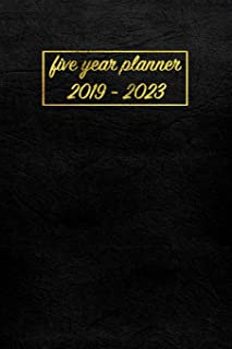 Five Year Planner 2019 - 2023: My Pocket Planner and Monthly Planner for a 5 Year Plan | Monthly Schedule Organizer, Agenda Planner and Appointment Notebook | 60 Month Calendar with Federal Holidays