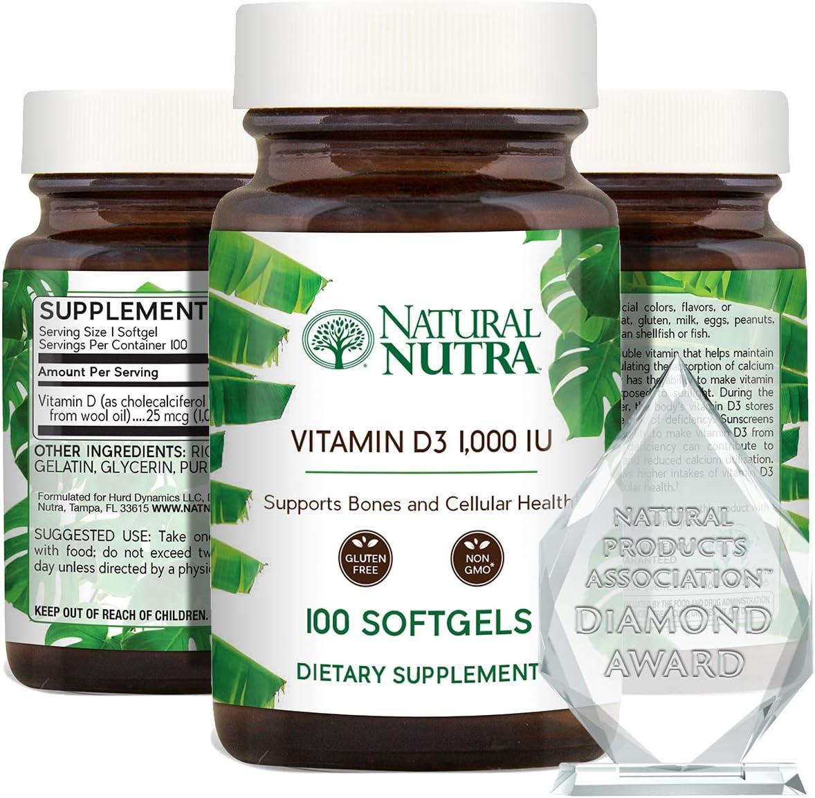 Tampa San Jose Mall Mall Natural Nutra Supreme Vitamin D3 Softgels Supplement fo 1000 IU