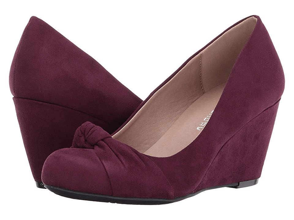 CL By Laundry Nerin (Merlot Suede) High Heels