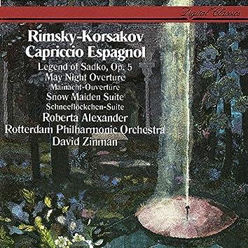 Rimsky-Korsakov: Capriccio Espagnol; Sadko; The Snow Maiden