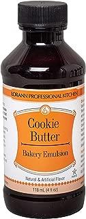 LorAnn Cookie Butter Bakery Emulsion, 4 Ounce Bottle