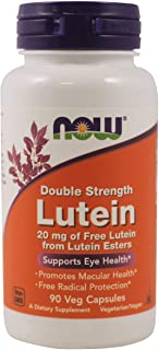 NOW Foods - Double Strength Lutein Eye Health Support 20 mg. - 90 Vegetable Capsule(s)
