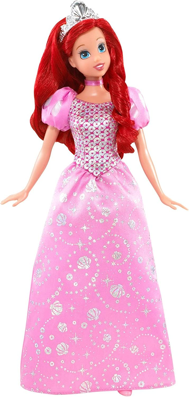 Disney Sparkling Seasonal Wrap Introduction Princess Ranking TOP9 Doll Ariel