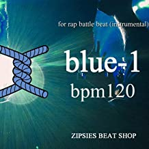 MCバトル用ビート OLD blue 1 BPM120 royalty free beat (HIPHOP instrument)