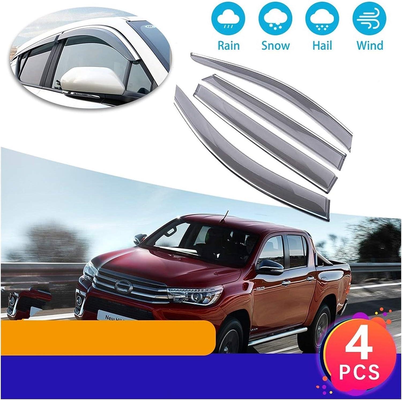 MYDH Window Visor Deflectors for Toyota AN130 Revo Hilux Luxury goods 2 shop AN120