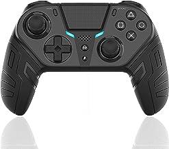 Controle Sem Fio DualShock 4 para PS4 Elite/Slim/Pro, Joystick de Jogos USB Bluetooth com Porta para Fone de Ouvido de 3,5...