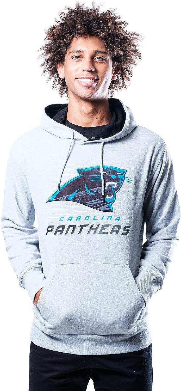 Ultra Game NFL Mens French Terry Hoodie Sweatshirt