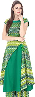 Natty India Women's Trail Cut Kurti