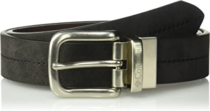 """Columbia Big Boys' 1"""" Wide Reversible Belt with Center Stitch"""