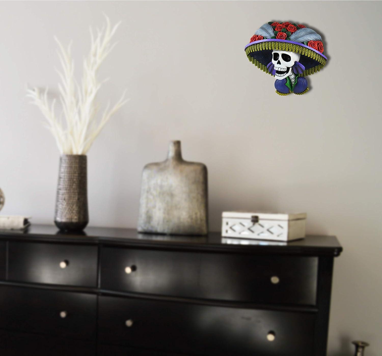 Large Calavera Catrina DAY OF THE DEAD Sugar Skull  Halloween Hanging Decoration