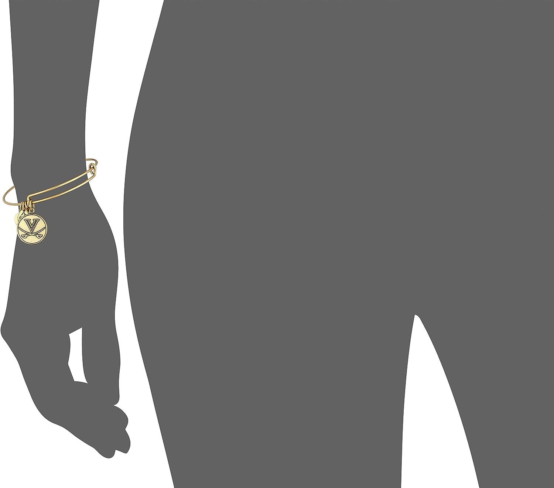 Alex and Ani University of Virginia Logo Expandable Bangle Bracelet